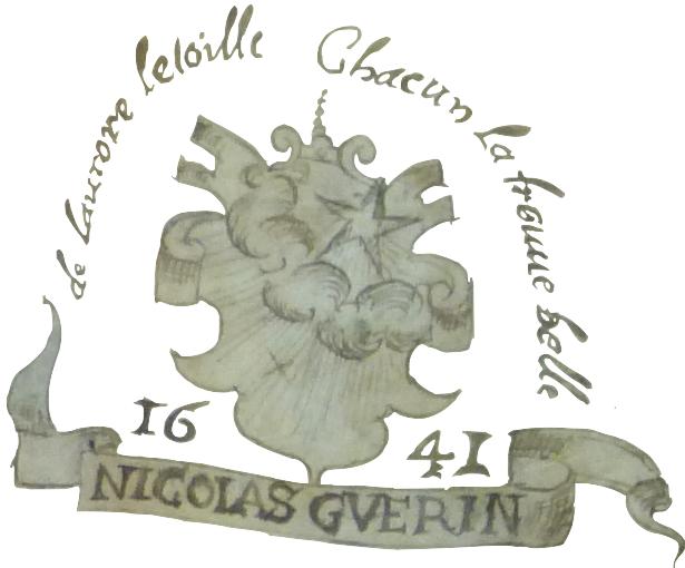 Marque de Nicolas Guerin, cartier