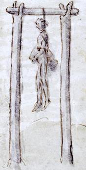 Potence à deux piliers (XVIIIe siècle)